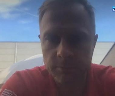 Koszykówka. Łukasz Koszarek: Wiemy, że turniej nie kończy się na meczu ze Słowenią (POLSAT SPORT) Wideo
