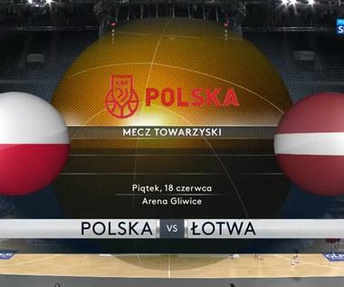 Koszykówka. Polska - Łotwa 75:73. Skrót meczu (POLSAT SPORT) Wideo