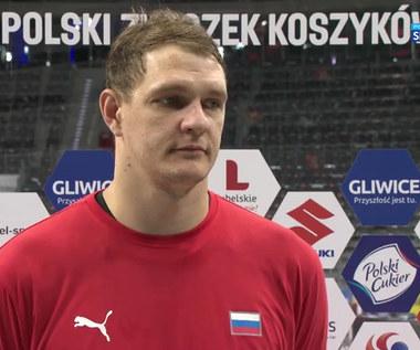 Koszykówka. Timofey Mozgov: Dziękujemy za turniej. To dla nas ważne zwycięstwo. (POLSAT SPORT) Wideo