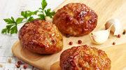 Kotlety pieczone z mięsa mielonego
