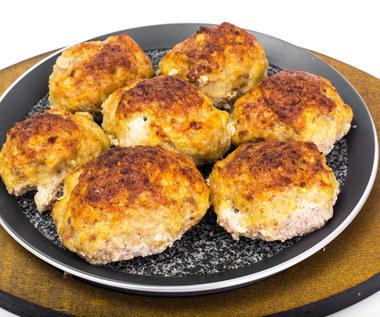 Kotlety ziemniaczane z mięsem