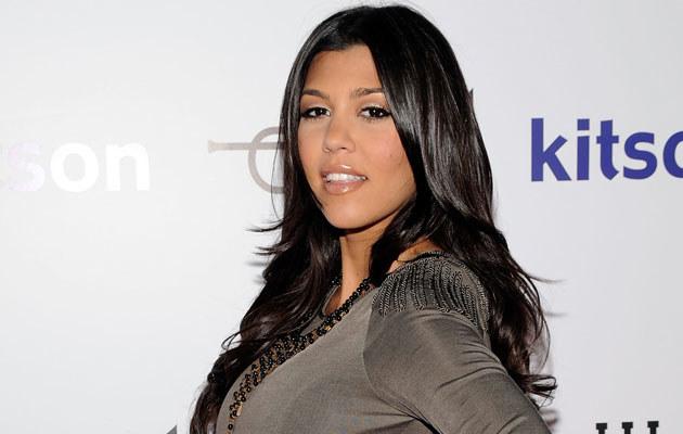 Kourtney Kardashian, fot. Frazer Harrison  /Getty Images/Flash Press Media