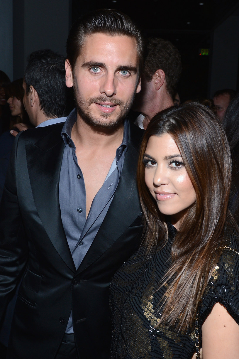 Kourtney Kardashian i Scott Disick /Getty Images