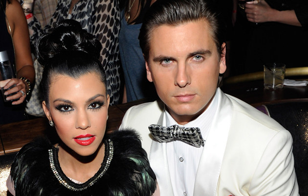 Kourtney Kardashian i Scott Disick /Ethan Miller /Getty Images