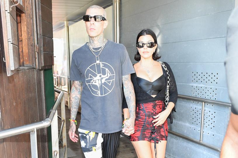 Kourtney Kardashian i Travis Barker aktualnie przebywają we Włoszech / Photopix / Contributor /Getty Images