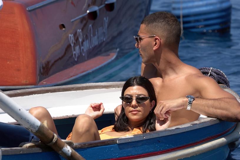 Kourtney Kardashian i Younes Bendjima /Agencja FORUM