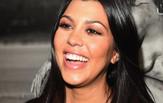 Kourtney Kardashian zapozuje nago na okładce! /Jason Merritt /Getty Images