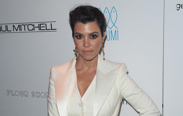 Kourtney Kardashian znów będzie mamą! /Dave Kotinsky /Getty Images
