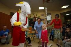 Koziołek Matołek odwiedził szpital w Prokocimu