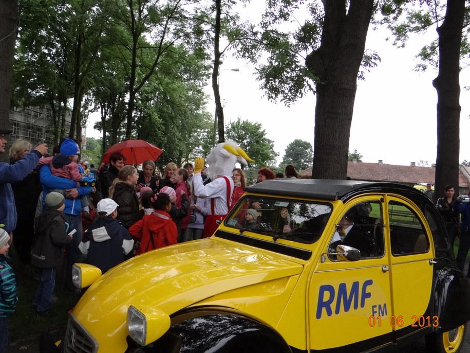 Koziołek w Nowym Brzesku - zdjęcie od pani Joanny /Joanna /Gorąca Linia RMF FM