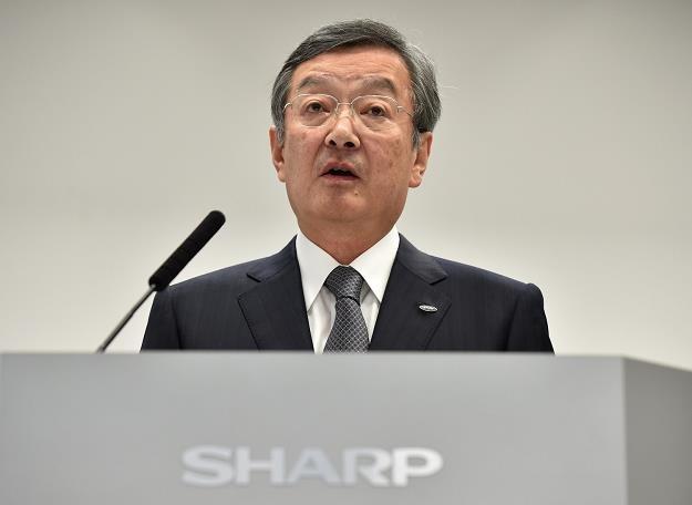 Kozo Takahashi, prezydent Sharpa /AFP