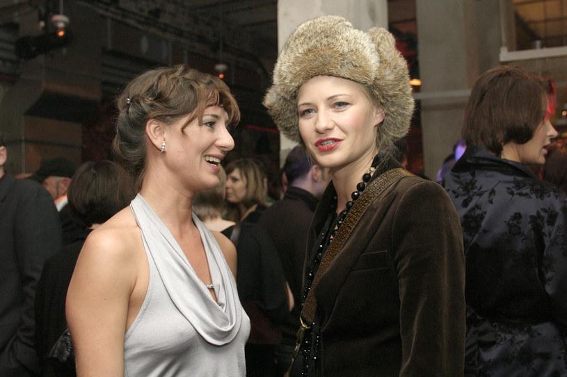 Kożuchowska i Ostaszewska przyjaźnią się od lat. Tu: na zdjęciu z 2006 roku /Krzysztof Jarosz /Agencja FORUM