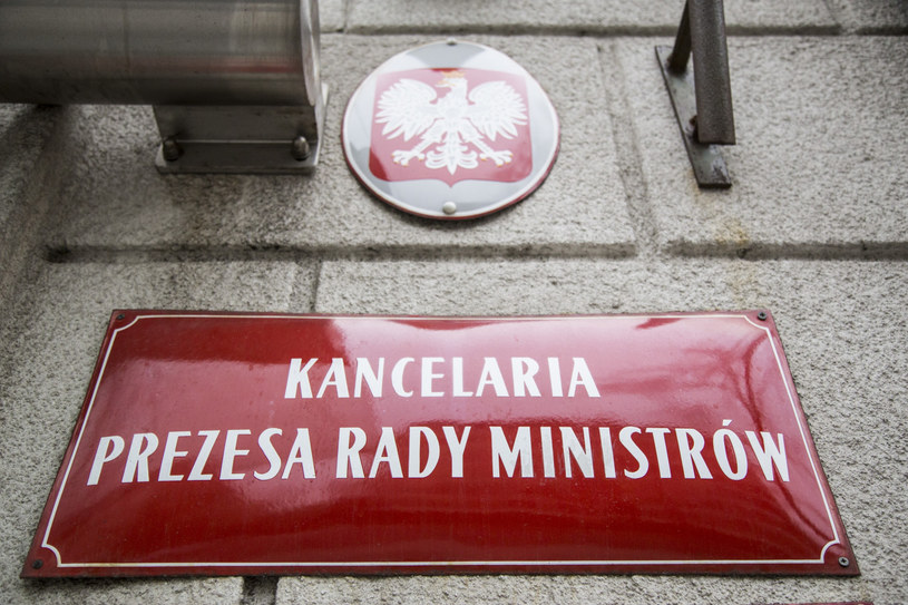 KPRM odcina się od sprawy /Maciej Luczniewski /Reporter