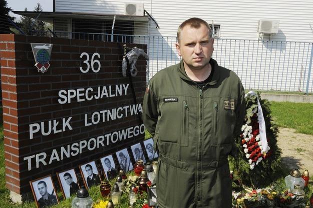 Kpt. Grzegorz Pietruczuk, fot. W. Laski /East News