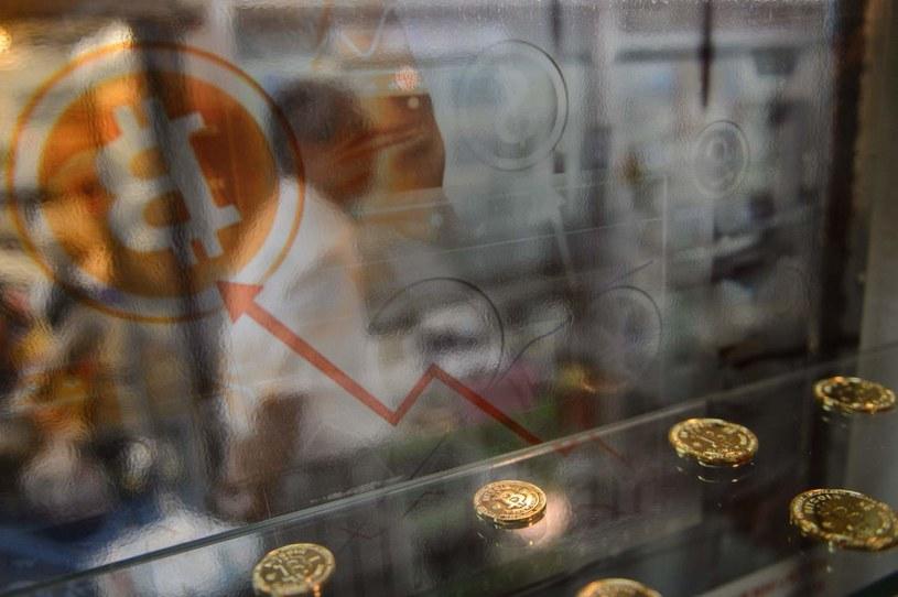 Krach na kryptowalutach stał sie faktem /AFP