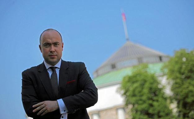 Kraczkowski (PiS): - Nie jestem zwolennikiem administracyjnych rozwiązań, ale niektórzy menedżerowie nie mają poczucia przyzwoitości. Fot. S. Kamiński Agencja Gazeta /&nbsp