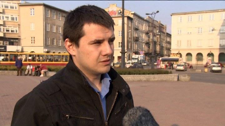 Kradzież tramwaju z zajezdni w Łodzi. Policja szuka sprawcy /TVN24/x-news