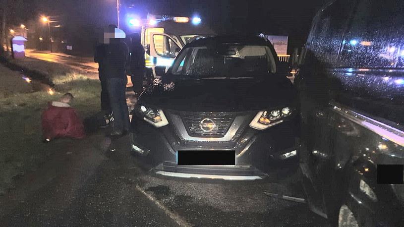 Kradziony Nissan /Policja