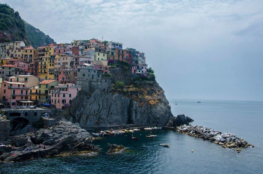 Kraina Cinque Terre. Na zdj. Manarola /Malwina Zaborowska /RMF FM