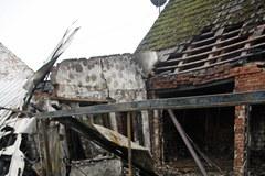 Krajnik Dolny: W nocy spłonął sklep z fajerwerkami