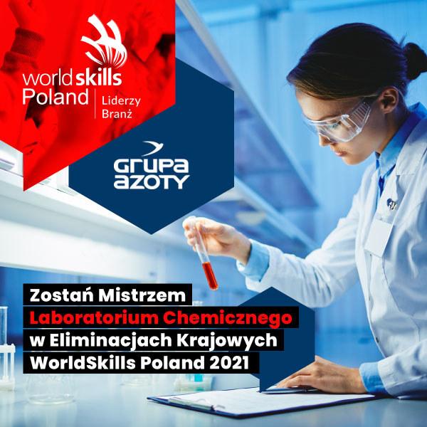 Krajowe eliminacje WorldSkills dla chemików odbędą się już 28 maja w Tarnowie /materiały prasowe