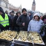 Kraków: 19. Wigilia dla Bezdomnych i Potrzebujących