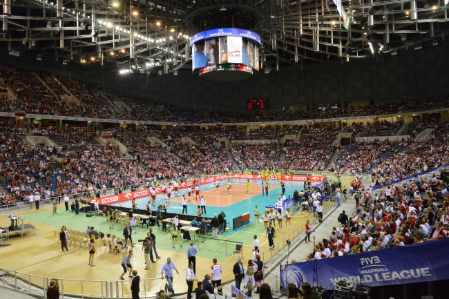 Kraków Arena będzie gościć uczestników tegorocznego Memoriałau Huberta Jerzego Wagnera /Jacek Bednarczyk /PAP