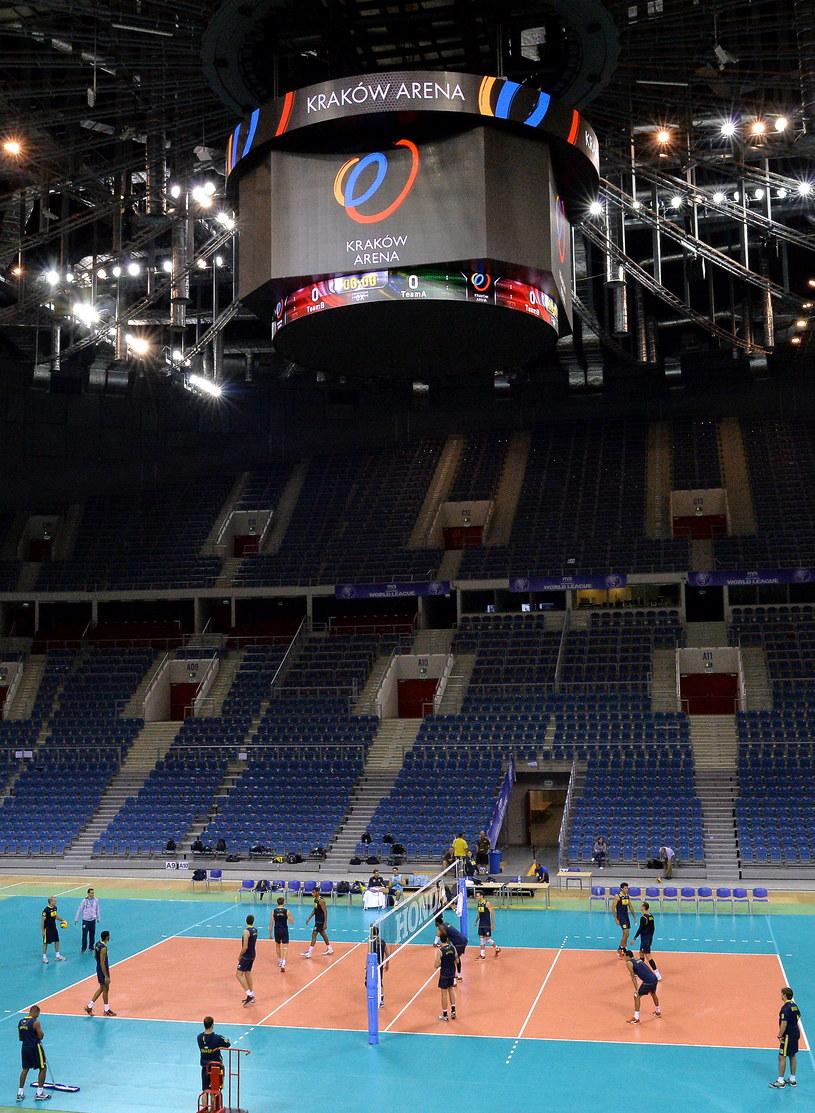 Kraków Arena jest gotowa na Ligę Światową /Jacek Bednarczyk /PAP
