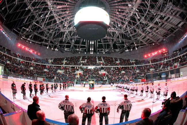 Kraków Arena w czasie finału Pucharu Polski /Stanisław Rozpędzik /PAP