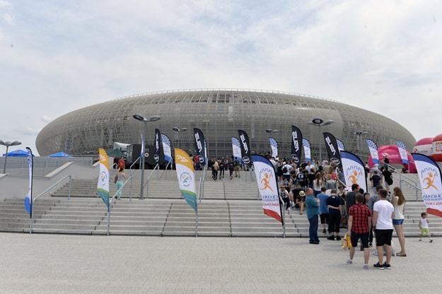 Kraków Arena widziana z zewnątrz /AKPA