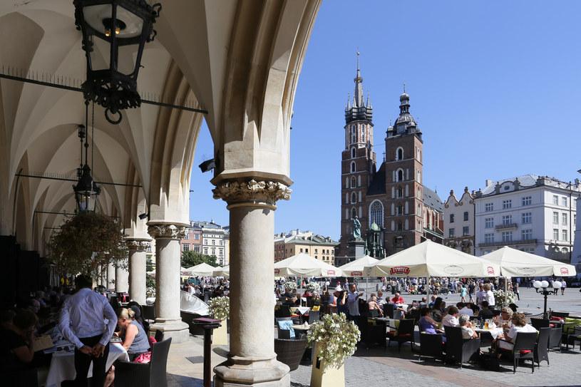 Kraków cieszy się dużą popularnością wśród arabskich turystów /Jakub Porzycki /Agencja FORUM