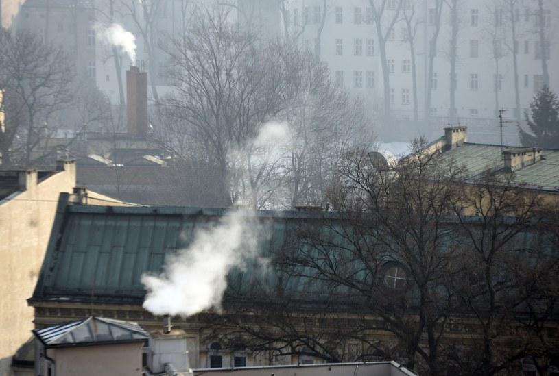 Kraków dusi się od smogu /M. Lasyk /Reporter