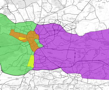 Kraków: Jak poruszać się po mieście w czasie ŚDM? [IDENTYFIKATORY WJAZDU]