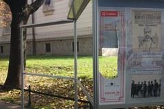 Kraków: Ktoś dewastuje wystawę na Plantach