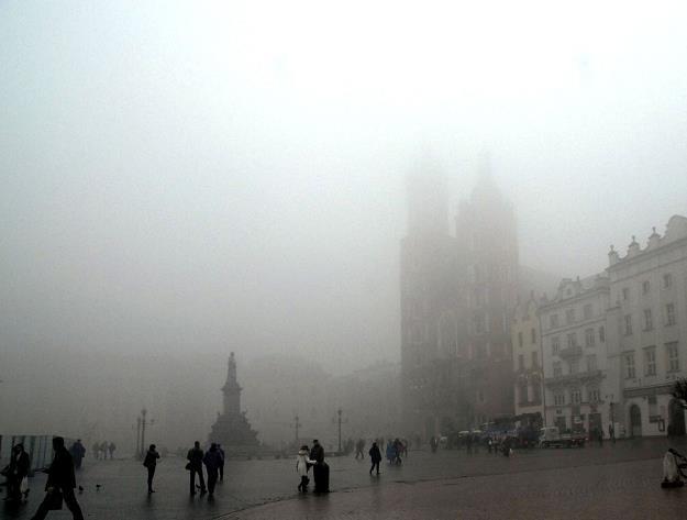 Kraków ma wielkie problemy ze smogiem. Fot. M. Lasyk /Reporter
