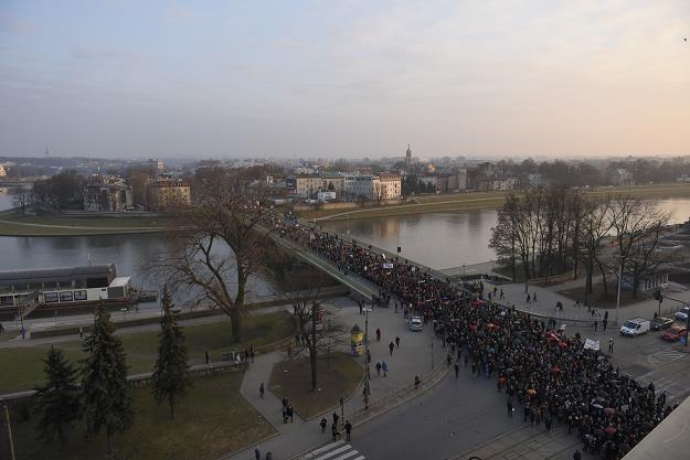 Kraków, most Dębnicki. Fot. Anadolu Agency /Getty Images/Flash Press Media