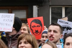 """Kraków mówi """"NIE"""" rosyjskiej interwencji"""