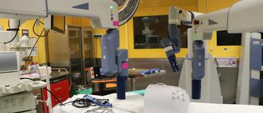 Kraków: Nowy robot sterowany ruchem oczu chirurga