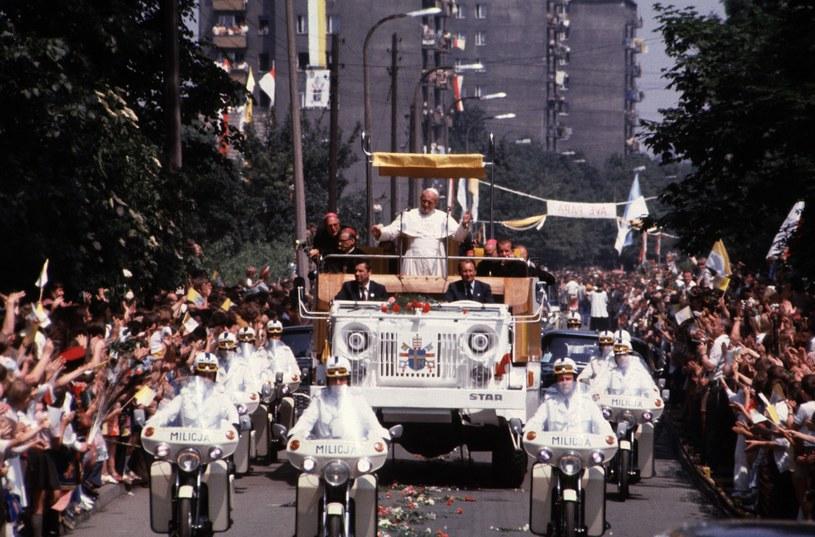 Krakow, Papież Jan Paweł II, I wizyta w Polsce, 1979 r. /Chris Niedenthal /Agencja FORUM