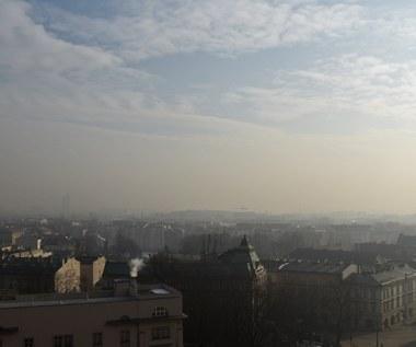 Kraków: Powietrze nad miastem zanieczyszczone