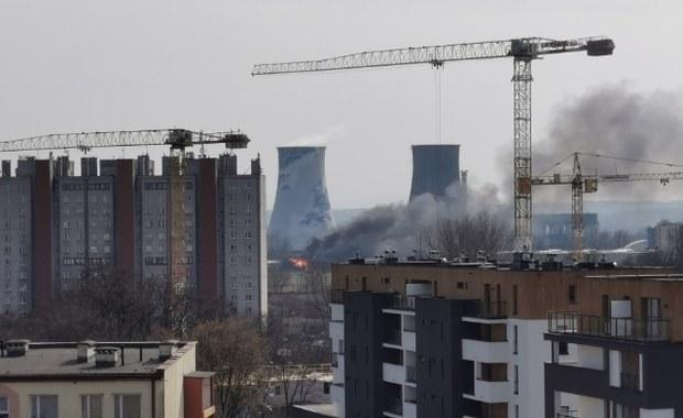 Kraków: Pożar pustostanu przy ul. Na Załęczu