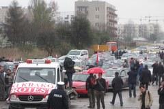 Kraków: Protest taksówkarze przeciwko deregulacji