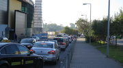 Kraków: Protest taksówkarzy. Tysiąc aut zakorkowało miasto
