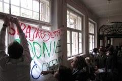 Kraków: Strajk w szpitalu psychiatrycznym