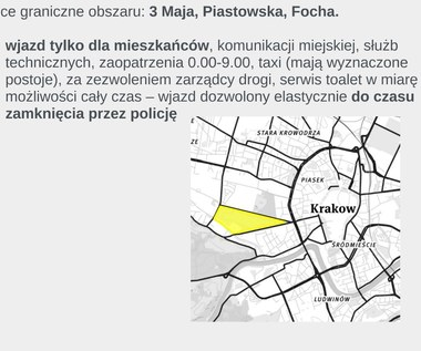 Kraków: Utrudnienia w ruchu podczas ŚDM [MAPY]