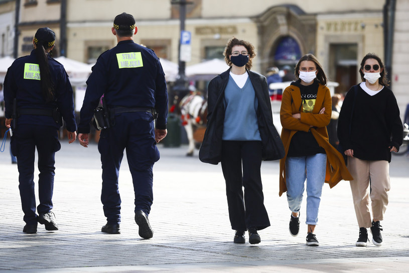 Kraków w czasach epidemii koronawirusa /Beata Zawrzel/REPORTER /Reporter