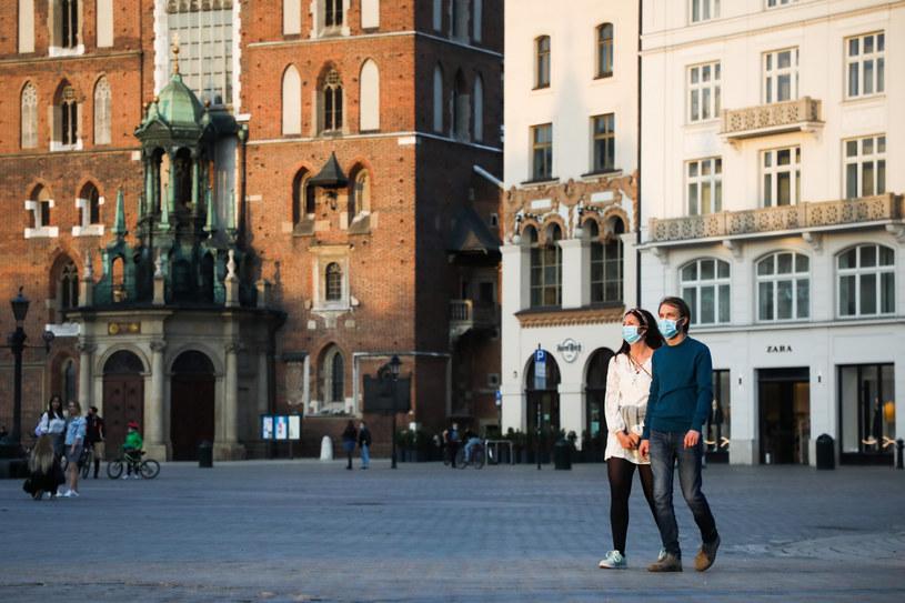 Kraków w czasach pandemii koronawirusa; zdj. ilustracyjne /Beata Zawrzel /Reporter
