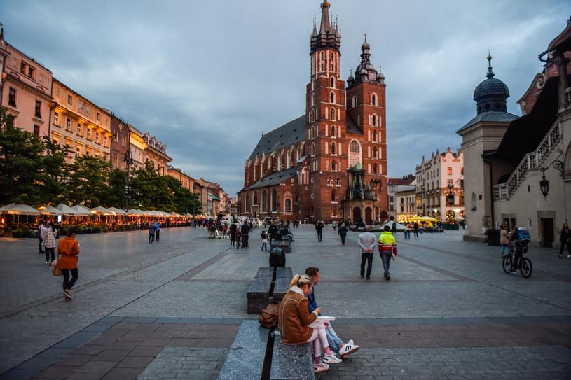 Kraków w czasie epidemii koronawirusa /Omar Marques /Getty Images