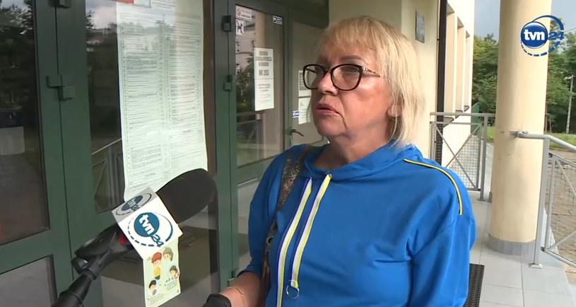 Krakowianka nie mogła oddać głosu z powodu błędu sąsiadki. /TVN24 /