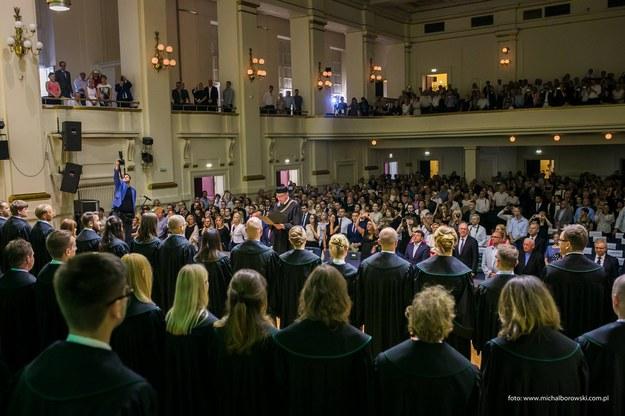 Krakowscy adwokaci świętują jubileusz 155-lecia istnienia ich samorządu /Mat. prasowe /